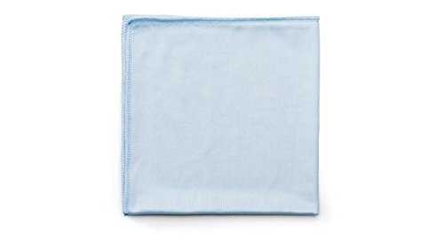 Rubbermaid Commercial Blue Microfiber Reusable Cleaning Cloths, 12 - Best Oakleys Faces Small For