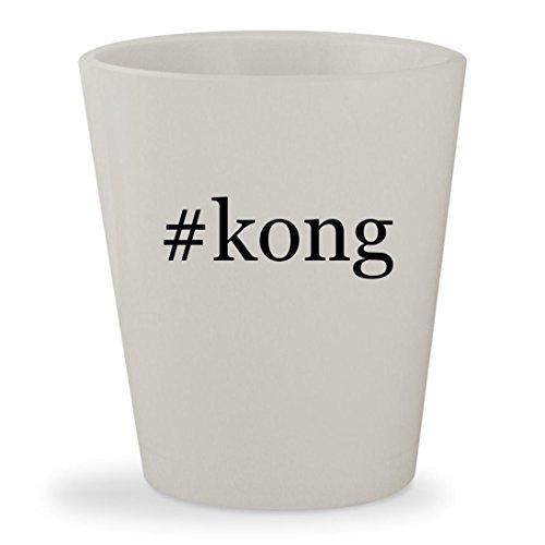 Price comparison product image #kong - White Hashtag Ceramic 1.5oz Shot Glass
