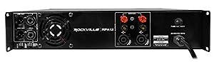 Rockville 5000 Watt Peak / 1400w RMS 2 Channel Power Amplifier Pro/DJ Amp (RPA12) from ROCKVILLE