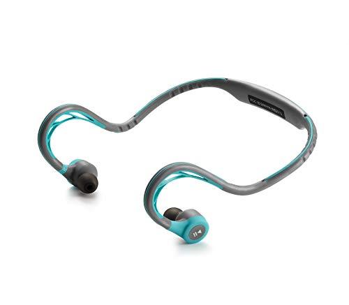 Sports Neckband Earphones - Mucro Bluetooth Headphones, Best Wireless Sport Earphones with Mic Neckband Earbuds for Gym Running Workout Headsets (Blue)