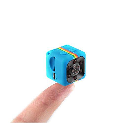 ETbotu USB Charging Mini Colourful 1080P HD Night-vision Camera Infrared Lamp Aerial Photo DV Security Camera by ETbotu