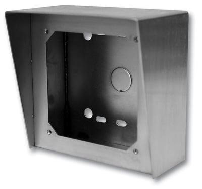 Viking Electronics VE-5X5-SS Attractive, Vandal Resistant, Stainless Steel Surface Mount Box - 5 x 5 in.