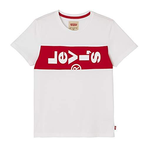 Garçon white Blanc Shirt Levi's 01 Kids T FqwAc7tS