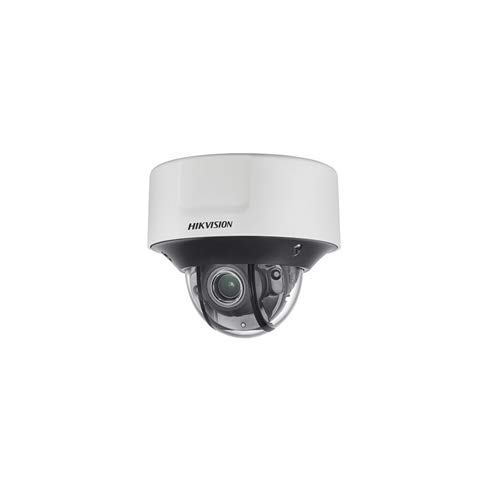 - HIKVISION Deep Learning Outdoor Dome, DarkFighter, 4MP, H265+, 2.8-12mm, Motorized Zoom/Focus, Day/Night, 140dB WDR, EXIR2.0, Alarm I/O, Heater, PoE/12VDC / DS-2CD7546G0-IZHS /