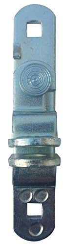 JQuad Trailer Door & Ramp Locking Hasp -4.25 Mounting- Cam Lock Latch Keeper -Zinc-