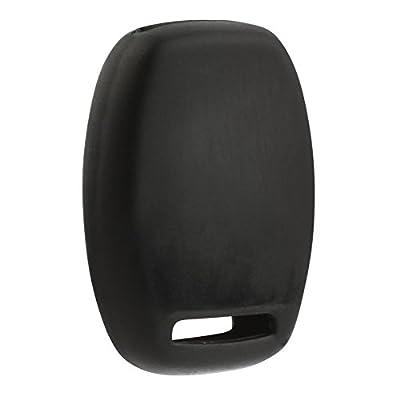 Key Fob Keyless Entry Remote Protective Cover Case Fits Honda Accord Crosstour/Civic LX/CR-V/CR-Z/Fit/Insight/Odyssey/Pilot/Ridgeline: Automotive