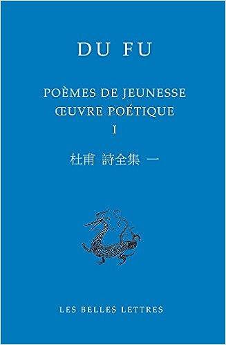 Amazon Fr Poemes De Jeunesse Oeuvre Poetique Tome 1