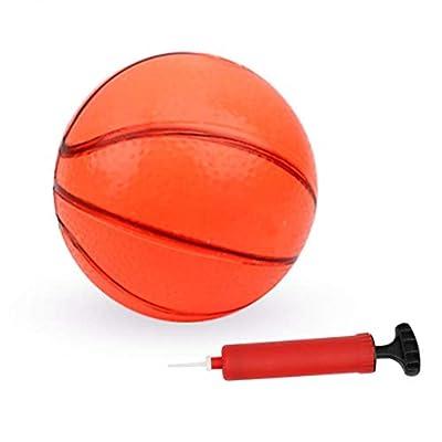 Dacyflower Mini Basketball Hoop Set, Hanging Basketball Hoop with PVC Basketball and Pump, for Children Indoor Basketball Games, Toy Basketball Hoops & Goals: Sports & Outdoors