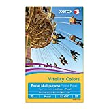 Xerox(R) Vitality Colors(TM) Multipurpose Printer Paper, Legal Size Paper, 20 Lb, 30% Recycled, Goldenrod, Ream Of 500 Sheets
