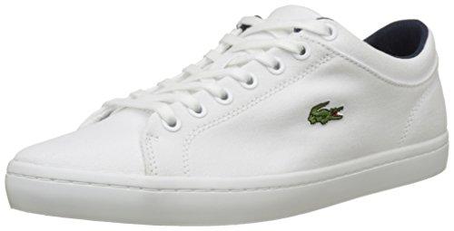 Straightset Lacoste Sneaker Uomo Wht 2 Bianco Bl Cam white CnwdP