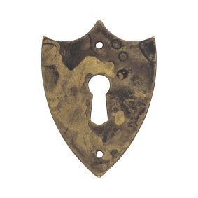 Key blade Biedermeier crest size 57 x 42 - Stilmelange quality from Europe since ()