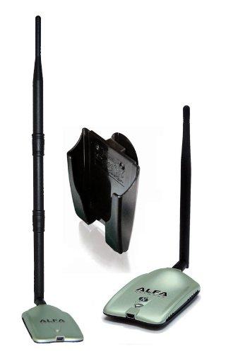 Alfa 200mW 2W High Gain USB Wireless Long Range Wi-Fi Network Adapter