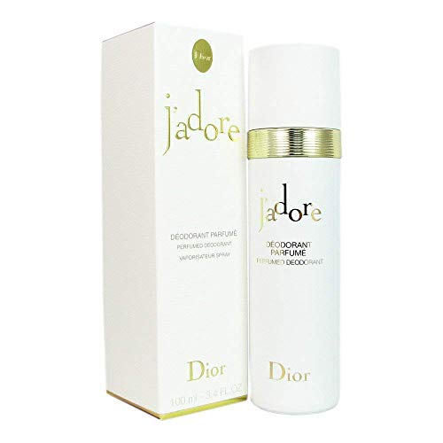 J'adore by Christian Dior Perfumed Deodorant Spray for Women, 3.4 Ounce / 100 ()