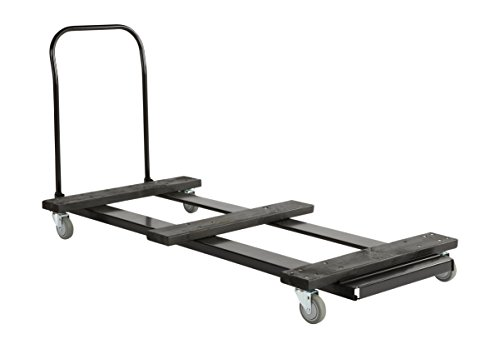(Iceberg ICE64148 IndestrucTable Folding Table Cart, Holds 20 Stacked Tables, 8', 100.5