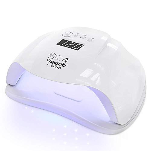 54W UV LED Nail Lamp Dryer for Gel Polish, Gustala...