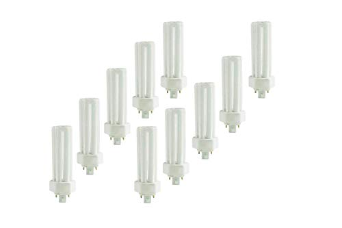 (10 Pack) PLT-32W 841, 4 Pin GX24Q-3, 32 Watt Triple Tube, Compact Fluorescent Light Bulb