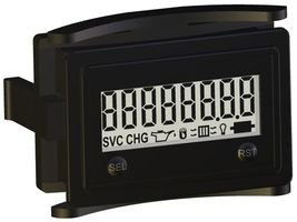 - REDINGTON COUNTERS 3400-2010 LCD COUNTER, 8-DIGITS, 20VAC-300VAC/10VDC-300VDC