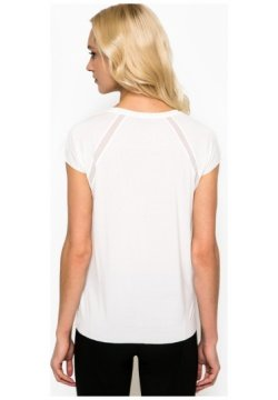 396fdfc7f35f2b Tommy Hilfiger Damen T-Shirt Weiß weiß Gr. S, weiß: Amazon.de ...