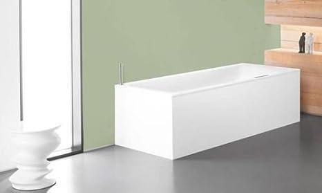 Beliebt Kaldewei Stahl Puro Duo Badewanne 170 x 75 cm weiß: Amazon.de DT89