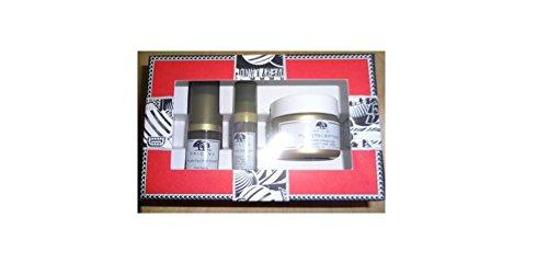 Origins Plantscription Power Set Anti-aging Power Serum Anti-aging Power Eye Cream 1 oz Powerful Lifting Cream