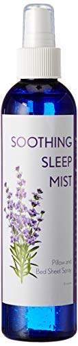 Natural and Relaxing Sleep Aid Mist. Pajama, Pillow and Bed Sheet Spray. (8 Ounce)