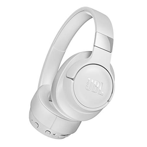 JBL T750BTNC Wireless Over-Ear Headphones with Noise Cancellation – White