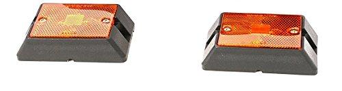 - MaxxHaul 80745 Side Marker LED Amber Light - 2 Pack