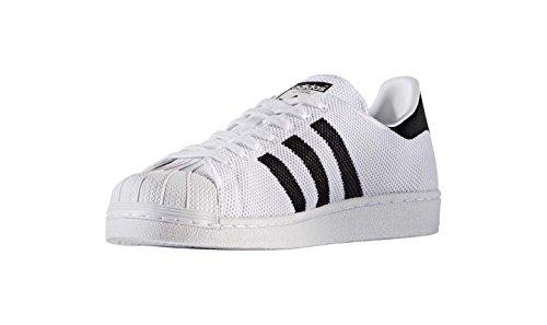 Adidas Superstar Mens Formateurs Blanc Noir - 7 Uk