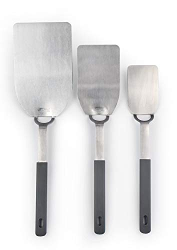 - RSVP Endurance 18/8 Stainless Steel Flexible Spatulas, Set of three, S-M-L