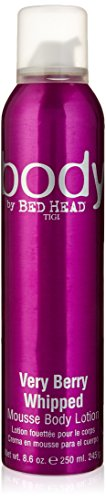 Tigi Bed Head Very Berry Whipped Mousse Body Lotion, 8.6 (Whipped Body Mousse)