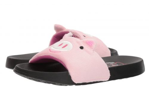 BOBS from SKECHERS(ボブス スケッチャーズ) レディース 女性用 シューズ 靴 サンダル 2nd Take - Faux Fun - Pink [並行輸入品]