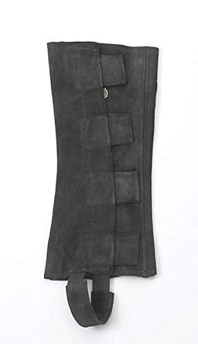 - Ovation - Ladies Suede Half Chaps w/Velcro , Black , Medium
