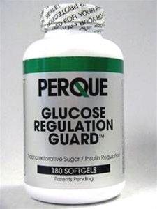 (Perque Glucose Regulation Guard Forte - 180 Softgels by Perque)