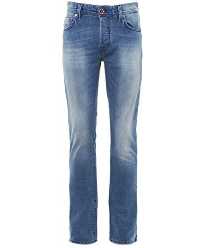 Leonardo Hombres fit Tramarossa Azul Slim Jeans Azul de dXpxqTx6w