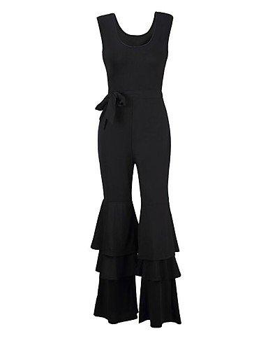 27523454613c Amazon.com  GAOLIM Womens Plus Size Jumpsuit - Solid