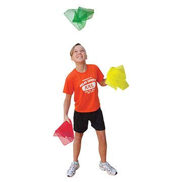 Palos Sports Juggling Movement Rhythm and Dance Scarves (Bag of 108) by Palos Sports (Image #1)