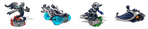 (Skylanders Superchargers Dark Edition 5 Figure Set -)