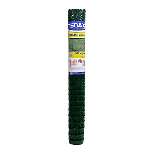 Plastic Net - Tenax 5A030001 Guardian Warning Barrier, 4' x 100', Green