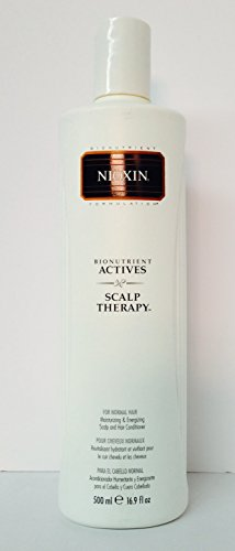 Nioxin Scalp Renewal - Nioxin Bionutrient Actives Scalp Therapy for Normal Hair 16.9 Oz