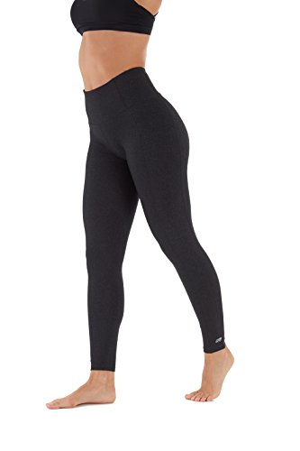 Marika High Rise Tummy Control Legging 27'' Heather Black