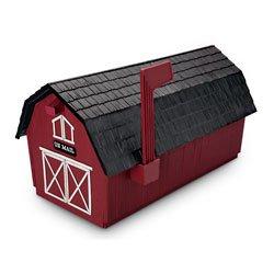 Red Barn Mailbox (Barn Mailbox)