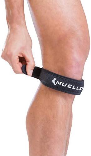 Mueller Jumpers Kniegurt (schwarz)