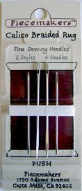 Piecemakers Calico Braided Rug Needles Pack of 4