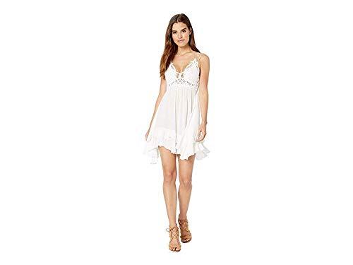 Free People Women's Adella Slip Dress, White, Small