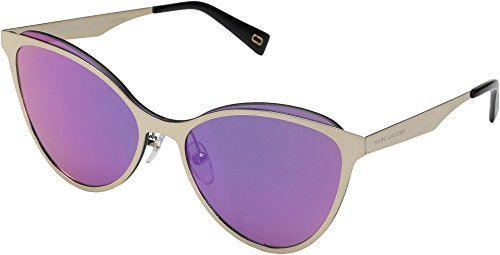 Marc Jacobs Women's Marc 198/S Gold With Multilayer Pink Lens - Name Sunglasses Brands