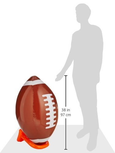 Inflatable Football & Tee Set Party Accessory (1 count) (1/Pkg) by Beistle (Image #3)