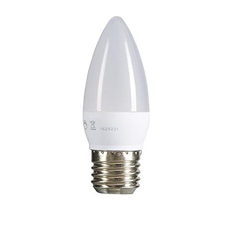 TCP - Juego de 4 bombillas LED de 6 W, rosca Edison E27, luz
