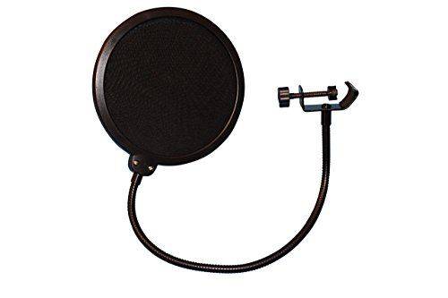 Pop Filter For Studio Microphone , Pop Shield Mic Wind