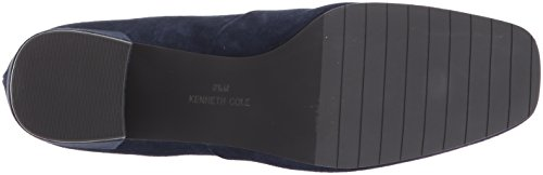 Kenneth Cole New York Women's Eryc Low Block Heel Square Toe Ankle Bootie Navy clearance huge surprise jCNFh