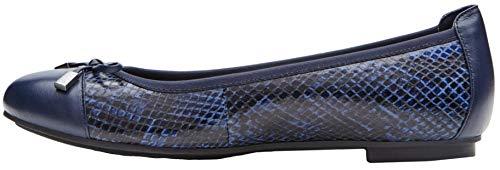 Gerrit Navy Leather Vionic Snake Womens Minna Shoes 359 OqnA8Cfxw7